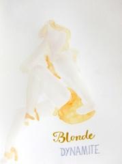 Blond Dynamite V2 Entrepotdok, 2010. Ink on paper (24 x 32 cm)