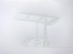 Brug Schippersgracht, 2010. Ink on paper (24 x 32 cm)