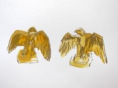 Eagles Artis Zoo Entrance, 2010. Ink on paper (24 x 32 cm)