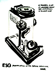 Vaporisor, War and Medicine, Wellcome Collection, 2011. Ink on paper (32 x 24cm)