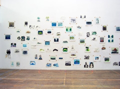 Installation view, Take Off, Galerie Dokhuis, Amsterdam, 2008.
