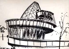 sketch of Serpentine Pavilion 2007