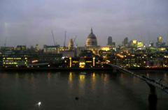 photo of view from Tate Modern