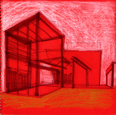 sketch of serpentine pavilion