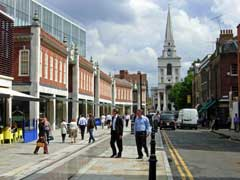 photo of Brushfield Street