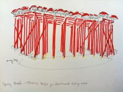 sketch of Clerkenwell Design Week