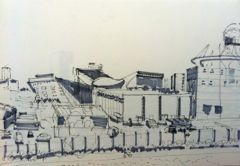 sketch of Olympic Park