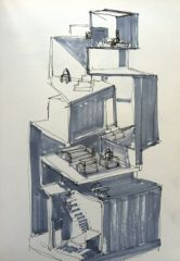 sketch of model